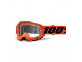 accuri 2 goggle orange clear lens