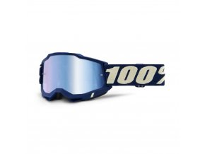 accuri 2 goggle deepmarine mirror blue lens