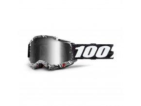 accuri 2 goggle cobra mirror silver lens