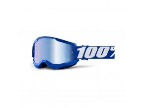 strata 2 goggle blue mirror blue lens