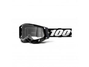 racecraft 2 goggle black clear lens