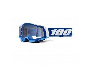 racecraft 2 goggle blue clear lens