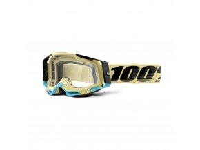 racecraft 2 goggle airblast clear lens
