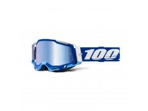 racecraft 2 goggle blue mirror blue lens