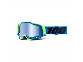 racecraft 2 goggle fremont mirror blue lens