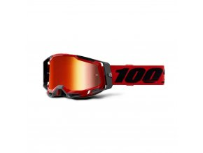 racecraft 2 goggle red mirror red lens