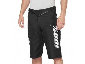 Kraťasy 100% R-CORE Shorts Black