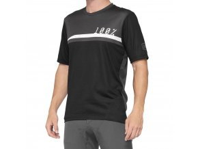 Dres 100% AIRMATIC Jersey Black/Charcoal