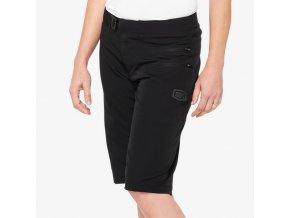 Airmatic Womens Shorts Black 01