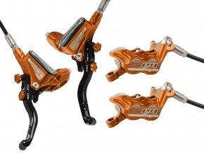 Tech3 E4 kevlar set Orange