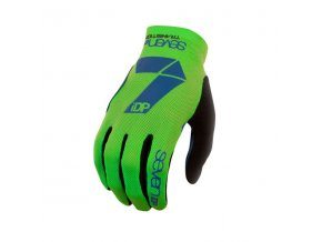 Rukavice 7iDP TRANSITION Lime / Navy Blue