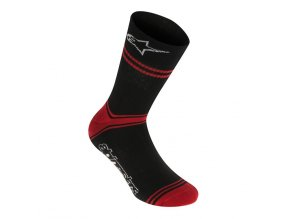 AS Summer Socks Black Red 01