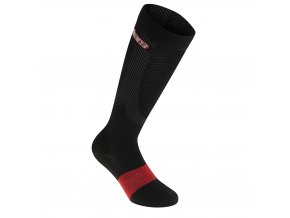 AS Compresion Socks Black Red 01