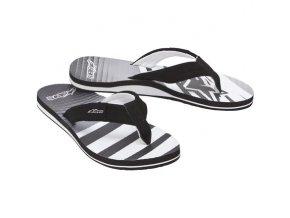 Brawn sandale šedá čierna 01