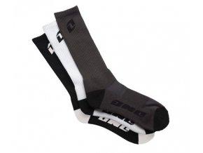 Ponožky Hi CREW mix 3páry