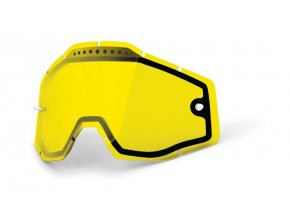 Yellow double lens