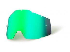 Green mirror lens