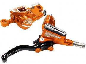 Brzda Tech3 X2 oranžová 02