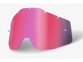 Pink mirror lens