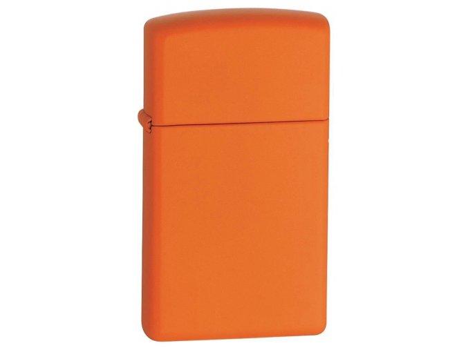 Zippo Slim Orange Matte 1631