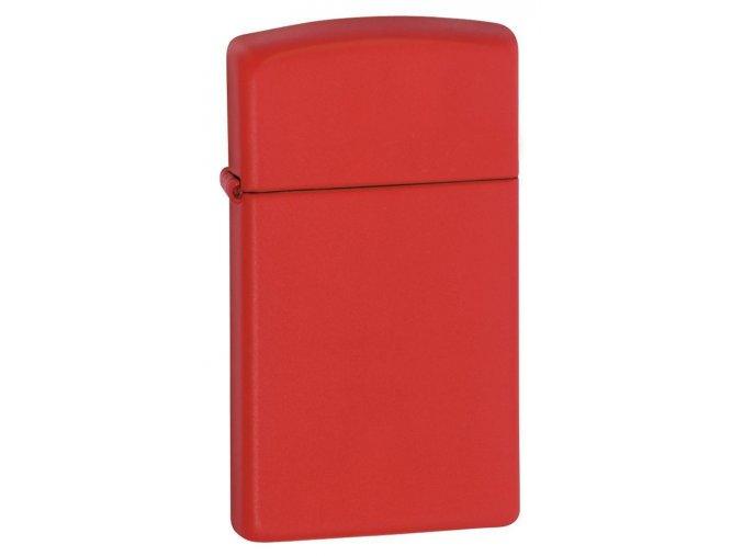 Zippo Slim Red Matte 1633