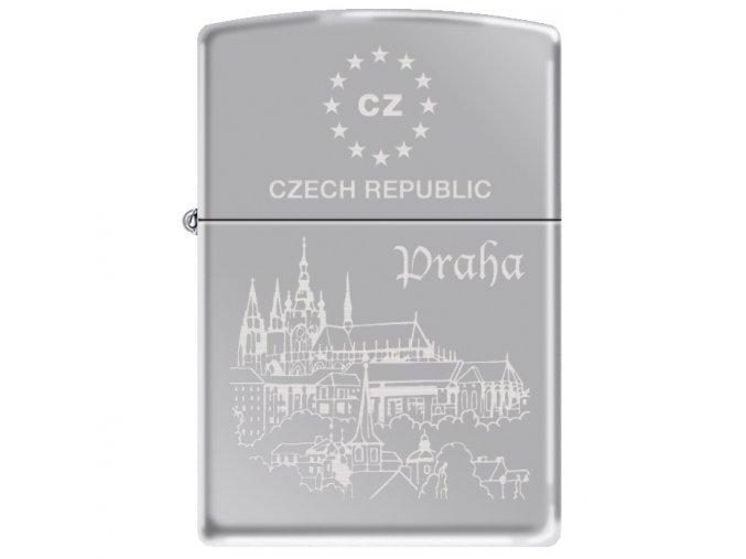 Benzínový Zippo zapalovač Praha 22711
