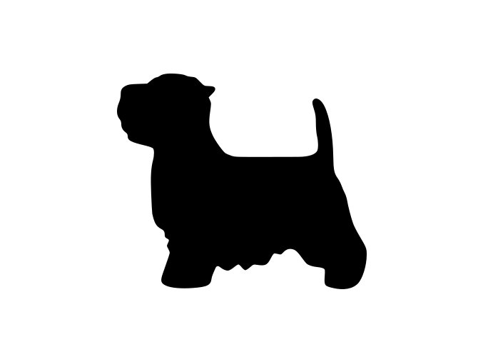 Samolepka pes - Jorkšír