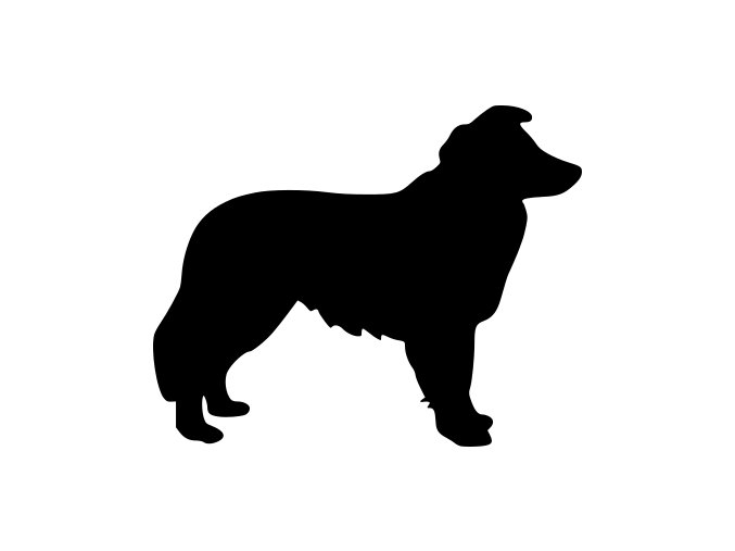 Samolepka pes - Sheltie
