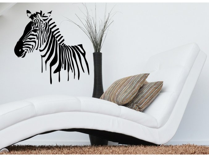 Samolepka na zeď Zebra