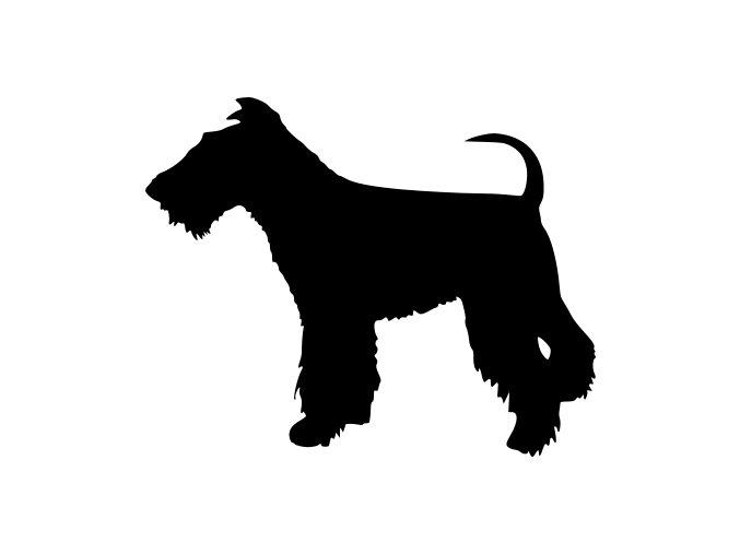 Samolepka pes - Foxteriér