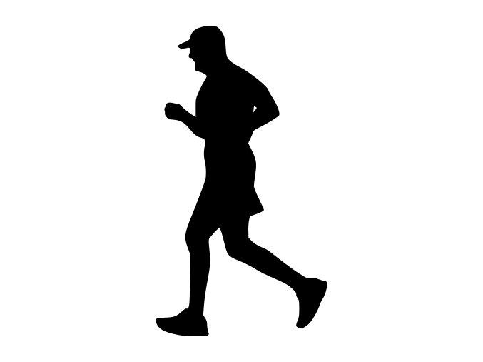 Samolepka - Běžec senior