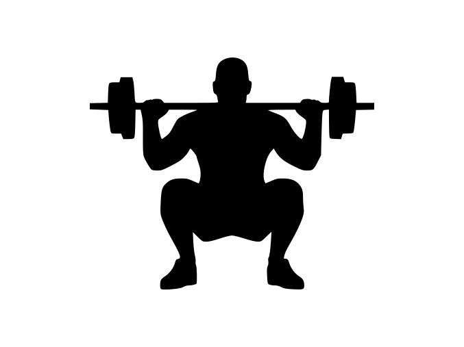 Samolepka - Fitness Vzpírání