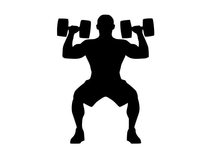 Samolepka - Fitness trenér