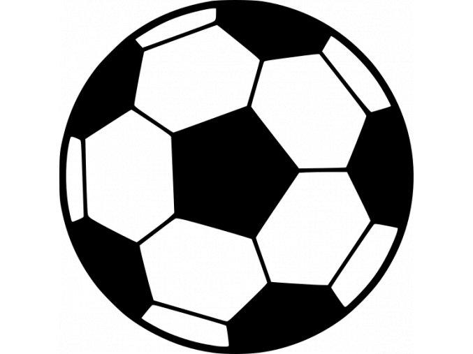 Samolepka - Fotbal - fotbalový míč