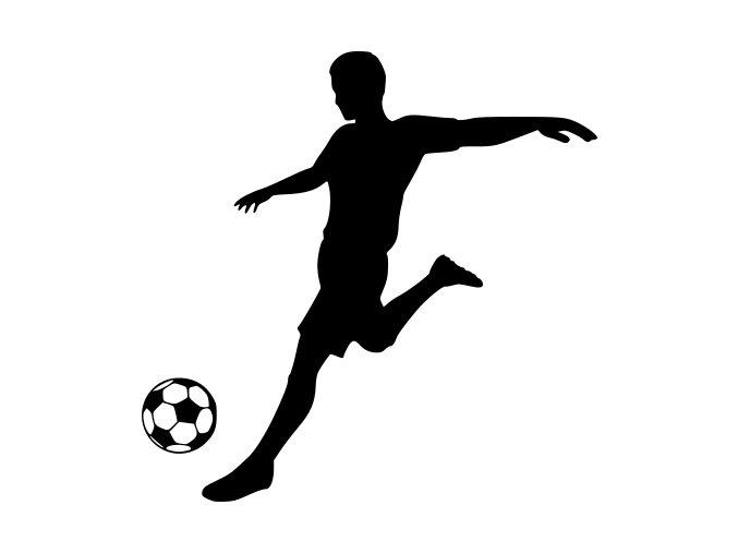 Fotbal - fotbalista převzetí míče