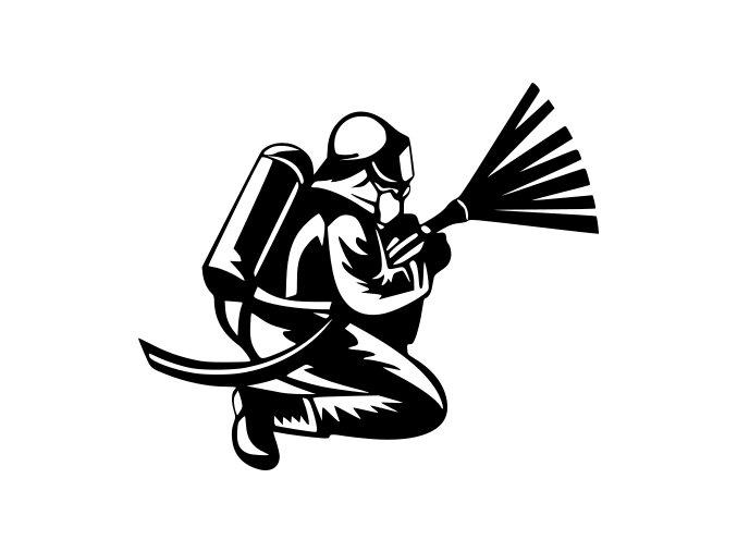 Samolepka - Hasič bezpečnostního sboru