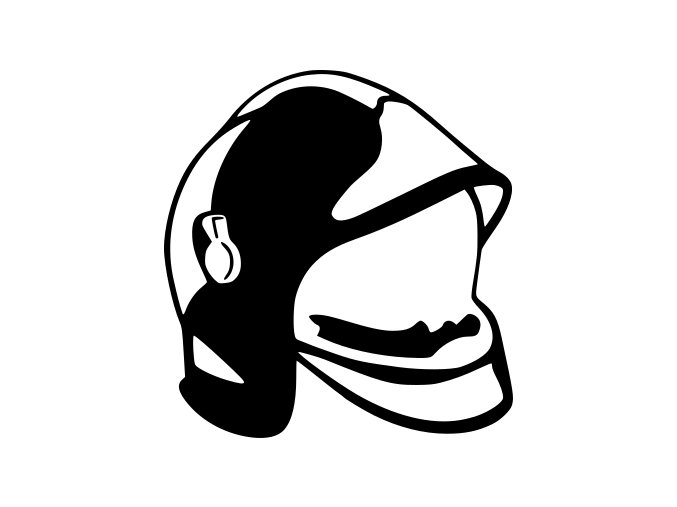 Samolepka Hasiči - Hasičská helma