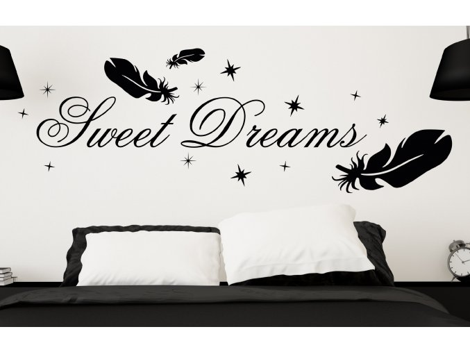 Samolepka na zeď - Sweet Dreams 2