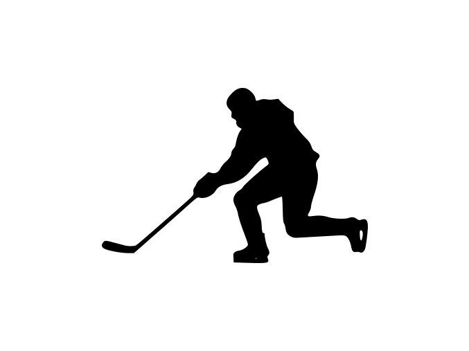 Samolepka - Lední hokej