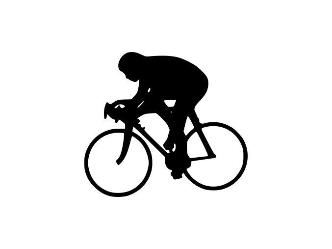 Samolepka Cyklistika - Cyklista