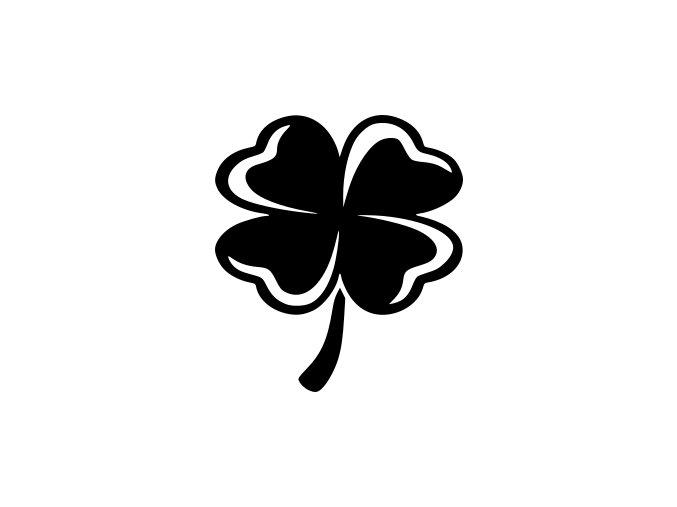 Samolepka - Čtyřlístek