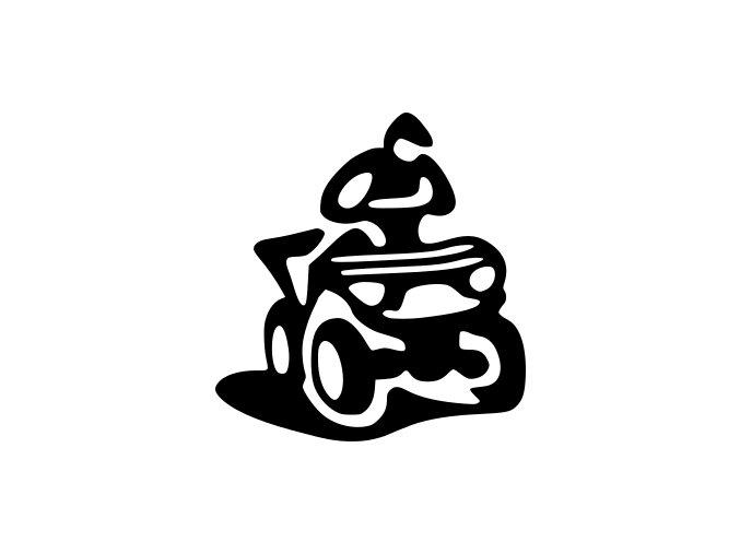 Samolepka na auto - Čtyřkolky