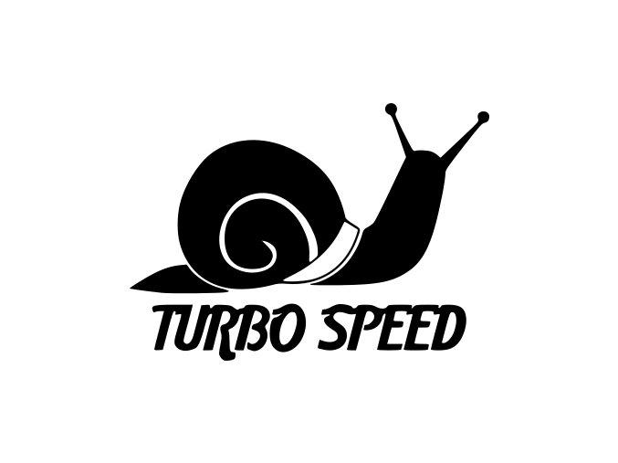 Samolepka na auto - TURBO SPEED