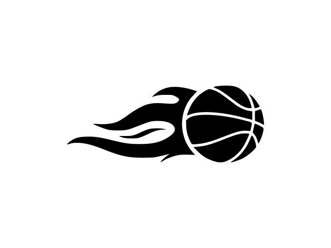 Samolepka na auto - Basketbalový míč