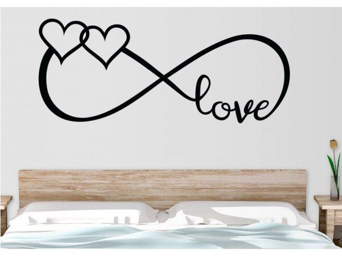 Samolepky na zeď - Infinity Love