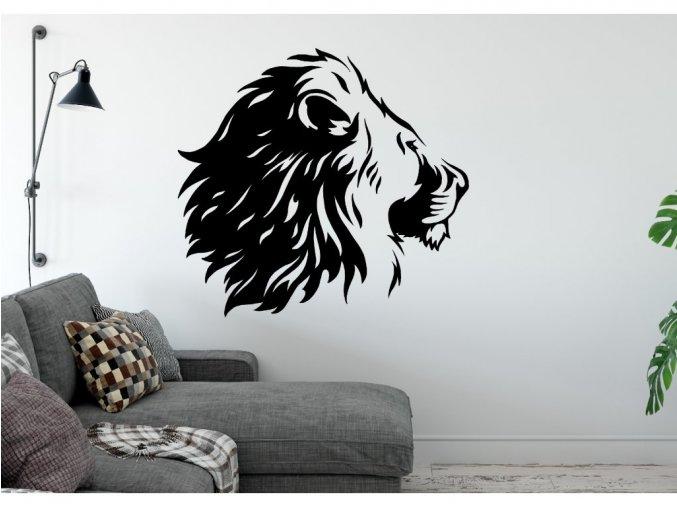Samolepka na zeď Lev 4