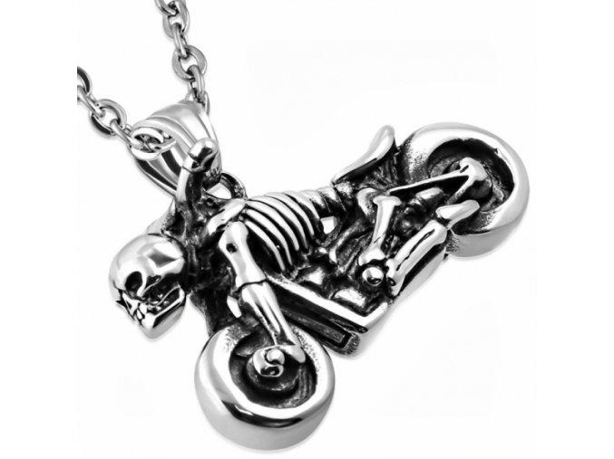 """<img src=""""www.gravon.cz/přívěšek.jpg"""" alt=""""Přívěšek z chirurgické oceli - Skull Devils Chopper Motorcycle HPV725T"""">"""