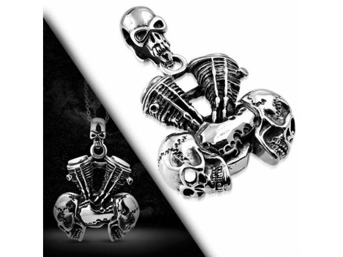 """<img src=""""www.gravon.cz/přívěšek.jpg"""" alt=""""Přívěšek z chirurgické oceli - Skull Motorcycle Engine PCS465T"""">"""
