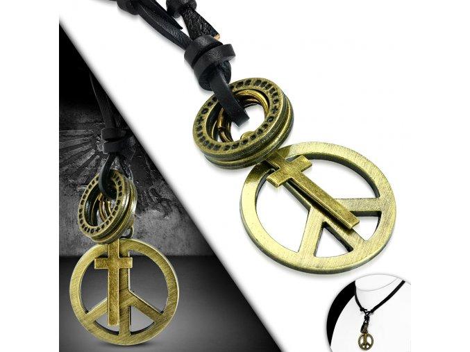 """<img src=""""www.gravon.cz/nahrdelnik.jpg"""" alt=""""Kožený náhrdelník - Peace, Křížek """">"""