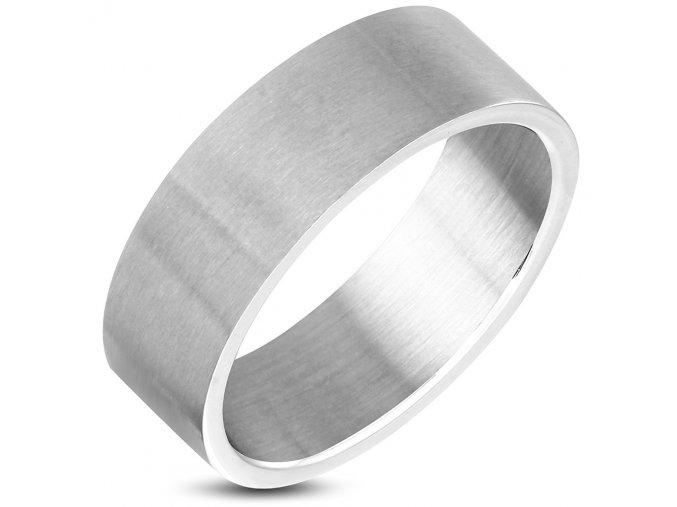 Prsten matný chirurgická ocel XXR345